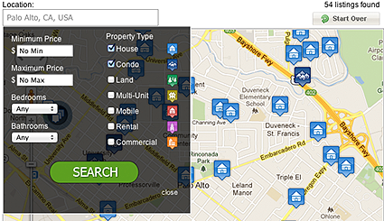 wordpress idx plugin map search